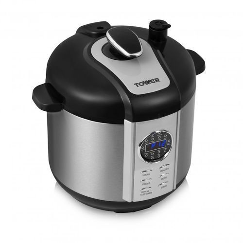 Digital Pressure Cooker And Smoker - 6Litres