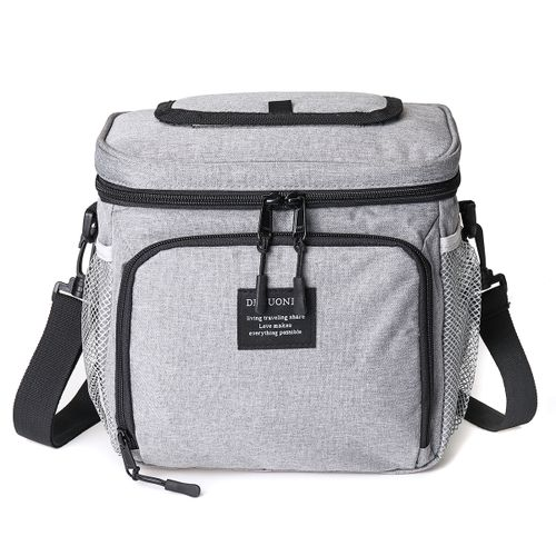 Insulated Lunch Bag Thermal Cooler Food Storage Box For Adult Men Women Boy