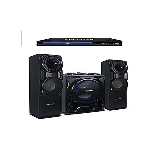Bluetooth Sound System With Built-In Amplifier - Pv-Sub811 + Powerfull DVD Player