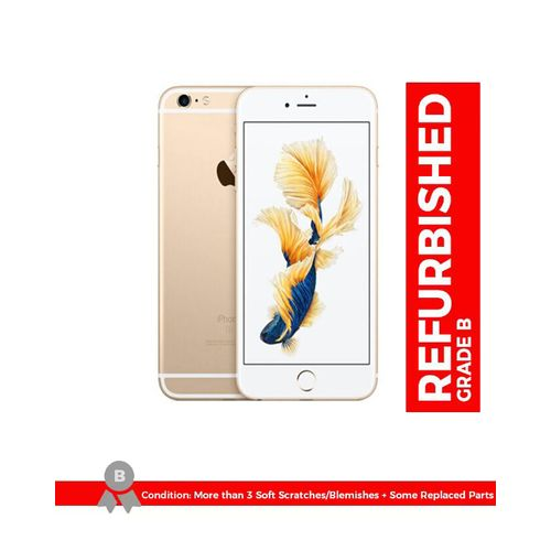 IPhone 6S Plus 5.5 Inch 2GB + 16GB 12MP + 5MP Finger Sensor 4G LTE Smartphone (Free Gift) – Gold