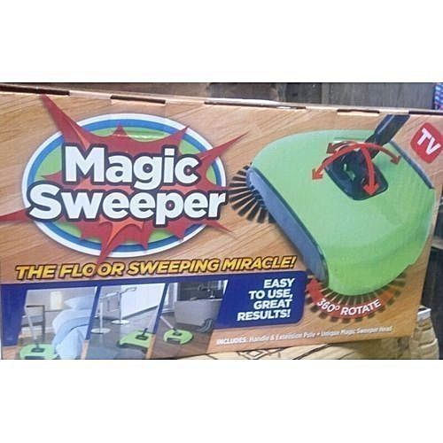 As Seen On Tv Magic Sweeper - 360 Degree Rotate Spin Broom