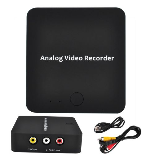 EZCAP AV Video Capture Recorder RCA Video Audio Input Analog To Digital Video Capture Converter Save Into SD, HDMI/AV Output NEW CUIII