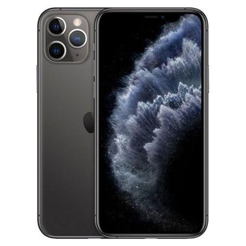 Apple IPhone 11 Pro 5.8-Inch Super Retina XDR OLED (4GB RAM, 256GB ROM),iOS 13, (12MP+12MP+12MP)+12MP 4G LTE Smartphone - Space Gray