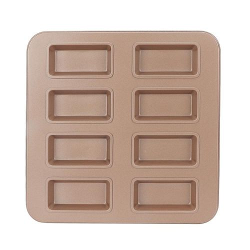 Cake Cookie Mold Baking Tray Baking Shape Rectangular 8 Grids Diy Tool Accessories Nonstick For Biscuits Bakeware Home Kitchen