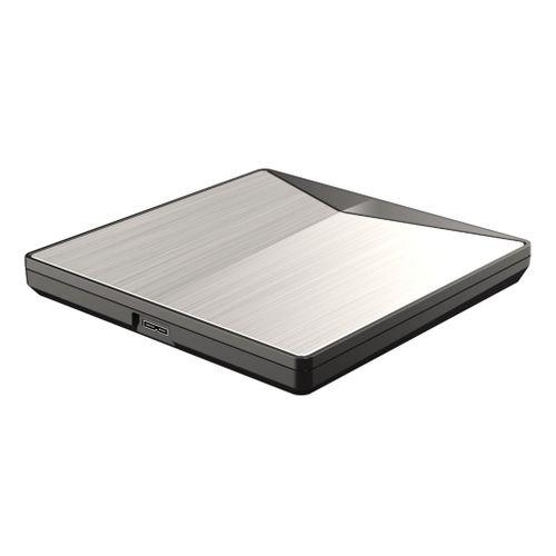 Ultra-slim External DVD Drive USB3.0 For PC Mac + Rewritable
