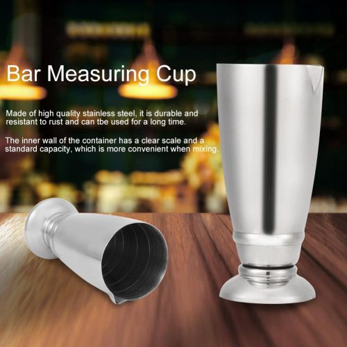 Stainless Steel Bar Bartending Measuring Cup Cocktail Wine Jigger Wine Tool With Scale