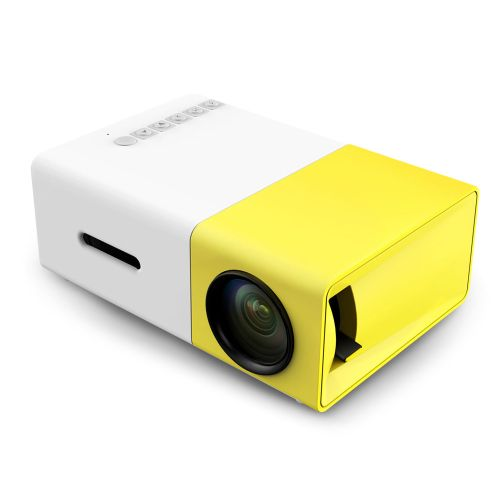 YG - 300 LCD Projector 400 - 600LM 320 X 240 Home Theater UK - Yellow
