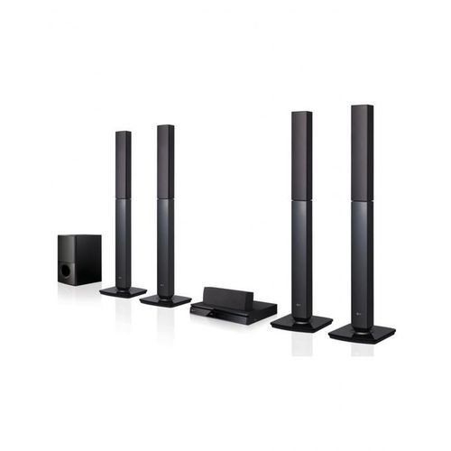 1000W Bluetooth DVD Home Theatre- Black with Free HDMI Cable