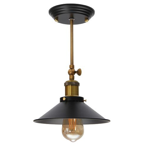 Retro Industrial Ceiling Lamp Vintage Pendant Light Fixture Decor Chandelier 160mm/400mm