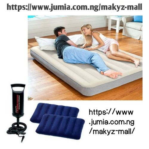 10in 2-3 Person Comfort Sleep Air Mattress Wit Two Pillows