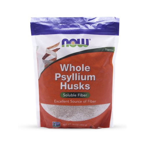 Psyllium Husks Whole Powder, 16 Ounce