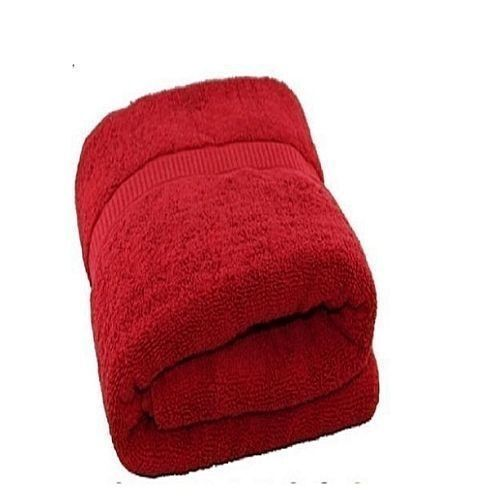 Universal Cotton Towel - Red(Extra Large)
