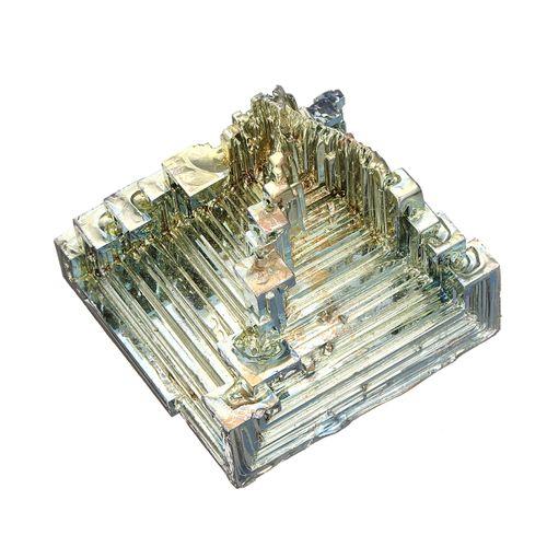 1.5-3'' Rainbow Bismuth Quartz-Selenite Meditation Chakra Reiki Healing Crystal