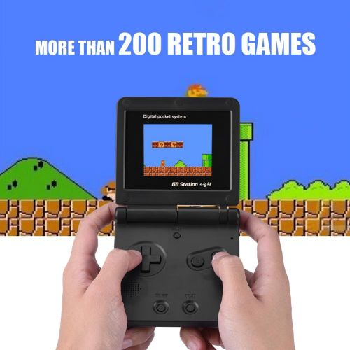 Hand Held Game Player Handheld Built In 8 Bit Console Games