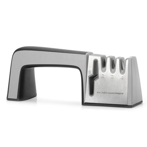 KCASA KC-KS02 Multi-function 4 In 1 Kn*fe Scis*or Sharpener Shear Sharpening System Grinding Tools