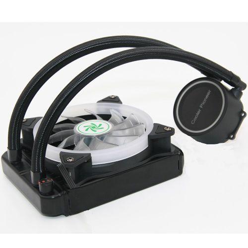 12cm CPU Cooler Fan Desktop Computer Case With LED Lower Noise Cooling Black