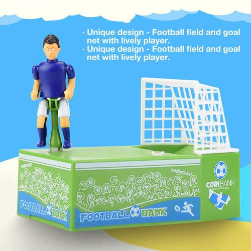 Automated Coin Bank Saving Money Box- Soccer Football(without Battery)