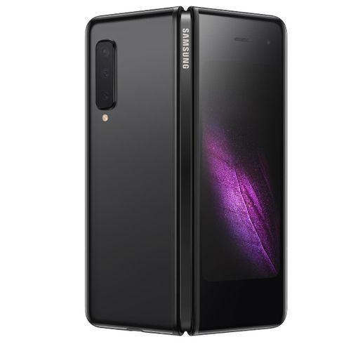 Galaxy Fold 7.3-Inch AMOLED (12GB,512GB ROM)Android 9.0 Pie, (16MP+12MP+12MP)+(10MP+8MP) 5G Smartphone - Cosmos Black