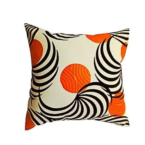 Throw Pillow And Insert, Multi Colored Leather