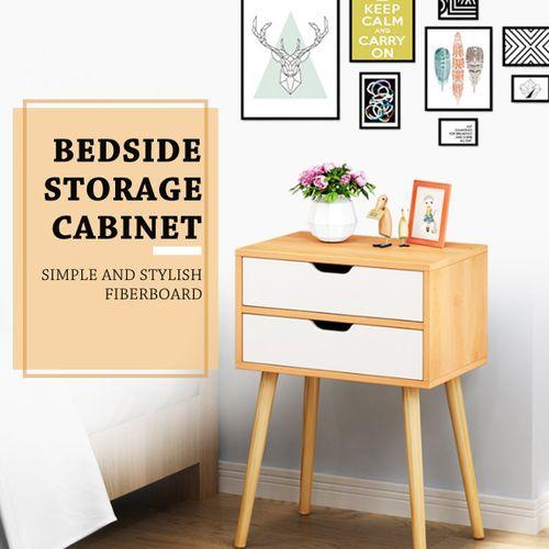 Simple Modern Bedstand Home Furniture Night Table Living Room Nordic Bedside Storage Cabinet Bedroom Nightstand Filing Storage