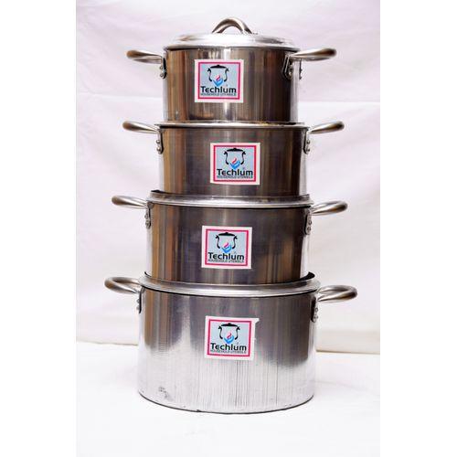 Aluminium Cooking Pot Set Of 4 ( 16,18,20,22)