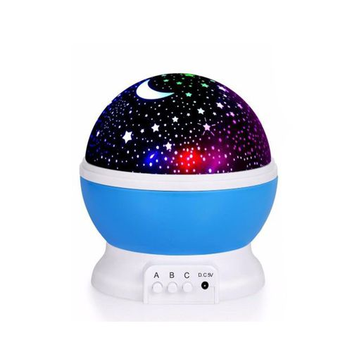 Night Lights Romantic Rotating Spinning Night Light Projector Sky Star Moon Master USB Lamp LED Projection Kids