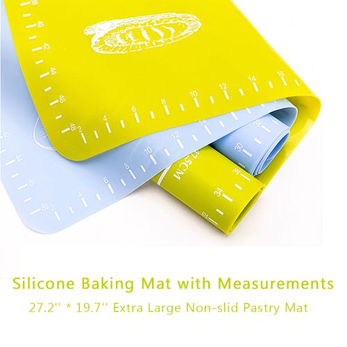 Silicone Baking Mat With Measurements 27.2 By 19.7 Inches
