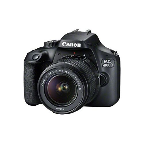 EOS 4000D DSLR With 18-55mm III Lens + 64GB + Bag Free