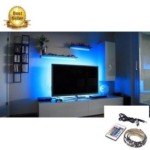 TV LED Backlight Light Strip USB Changing Color Strip Light