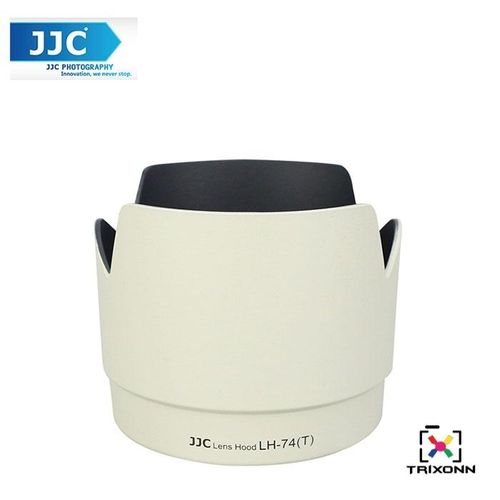 JJC LH-74(W)T White Lens Hood For Canon EF 70-200mm F/4L IS USM Camera Lens ( ET-74 ) (LH-74(W)T) XJMALL