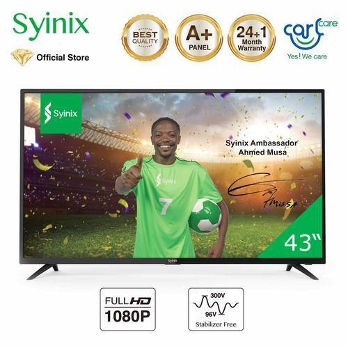 """Syinix 43"""" HD LED TV With UI & Local Language"""