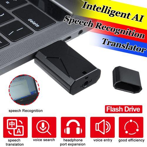 Mini Smart AI Voice Recognition USB 28Languages Translator Real Time Translation