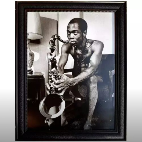 Framed Artwork Picture Of Fela Kuti