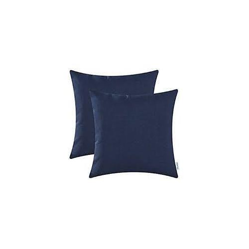 Pure Blue Throw Pillow