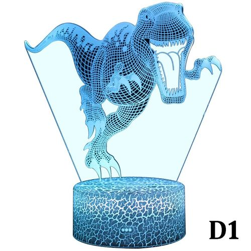 3D Illusion Night Light LED Desk Table Lamp 7 Color Touch Lamp Art Sculpture Lights Birthday Gift For Kids Bedroom Decor