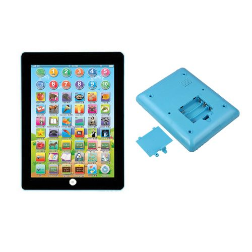 Watermalend Kids Children Tablet IPAD Educational Learning Toys Gift For Girls Boys Baby