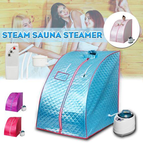 Portable Steam Home Sauna Spa Bath Heater Weight Loss Slimming Machine
