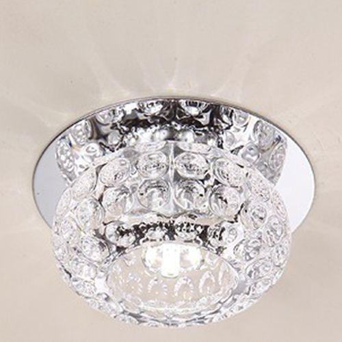 Modern 3w 5w Crystal LED Ceiling Chandelier Light Spotlight Downlight Cool White [5w]