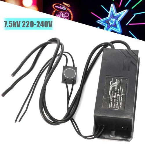 Neon Light Electronic Transformer 220-240V 50Hz 7.5kV Neon Power Supply