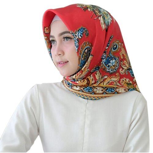Bandana Scarf Printing Office Lady Beach Muslim Hijab Girl Turban Shawl Black