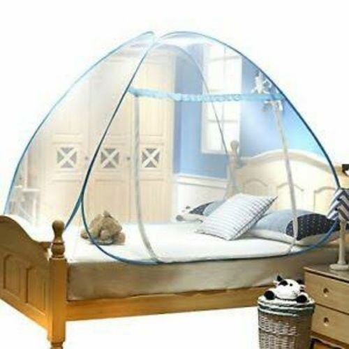 FOLDABLE MOSQUITO TENT NET 6X6 BED (200CMX200CM)