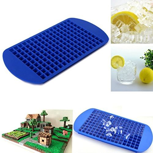 Cake Mould 160 Ice Cubes Frozen Cube Bar Pudding Silicone Tray Mould Mold Tool