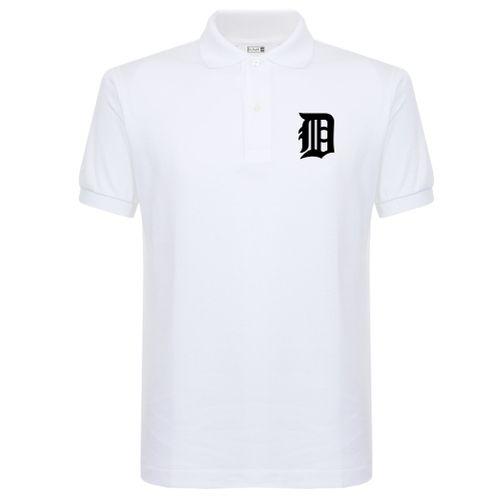 Black Diamond Crested Polo Shirt - White