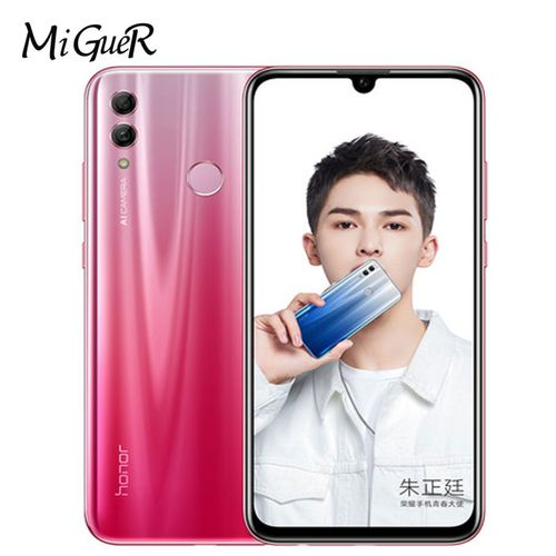 """Huawei Honor 10 Lite Mobile Phone 6.2 """" 3400mAh Android 9 24MP Camera Smartphone With Google Play"""