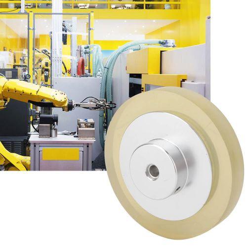 Liukouu Durable Non-Slip Polyurethane Rotary Wheel Meter
