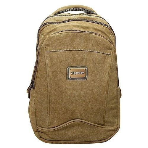 Travel Laptop And School Backpack Bag - Brown