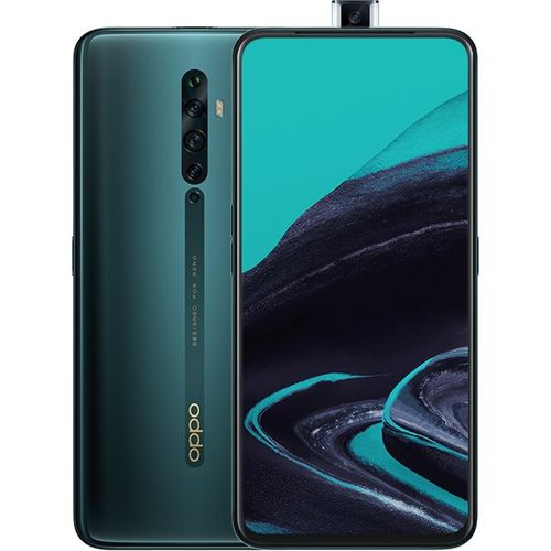 "Reno 2 F Screen Size - 6.5"" ColorOS6.1 8GB RAM128GB ROM 3900/4000mAh(Min/Typ) - Lake Green"