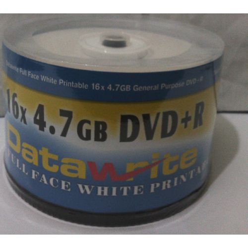 PACK OF 50 RECORDABLE DVD- BLANK DISCS ( DATAWRITE)
