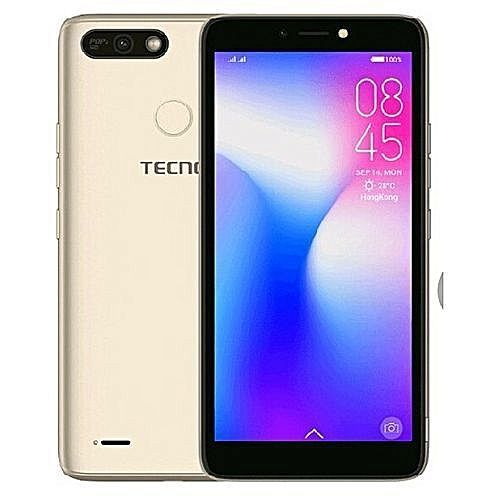 POP 2f , Android 8.1 , 16GB Rom + 1GB Ram, 8MP Front Camera With 5MP Rear Camera , Battery 2400mAH, CHAMPAGNE GOLD