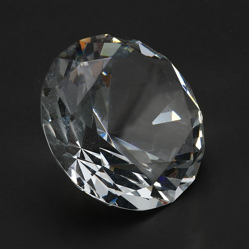Home Decor Cut Shape 60mm/2.34inch Clear Crystal Diamond Decoration Display Ornaments Crafts Glass Gem